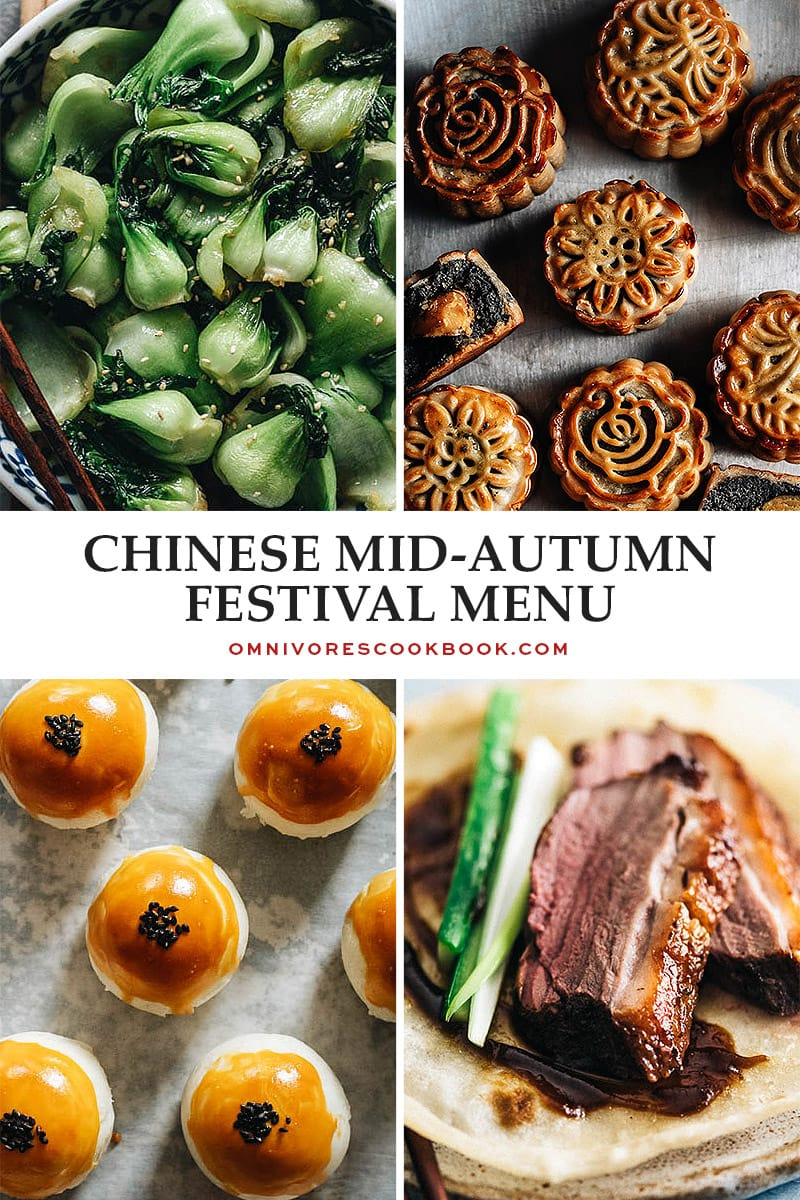 Chinese Mid-Autumn Festival Menu