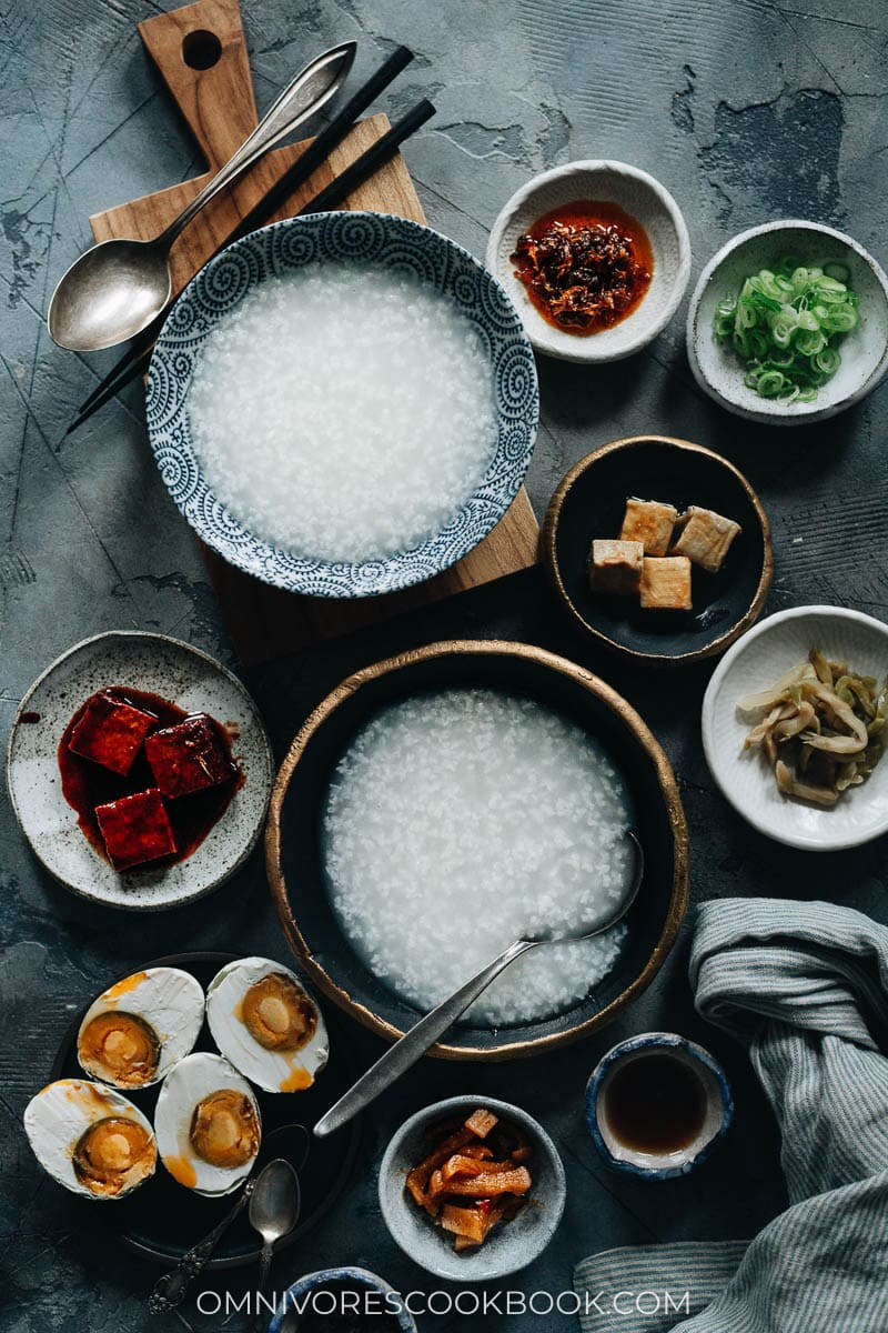 How to Make Congee (Plain Congee)