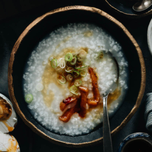 Not only is plain congee the ultimate comfort food, it's also an important staple on the Chinese dinner table - just as popular as steamed rice. Check out the recipe below to learn how to make congee on the stovetop or in an Instant Pot, with various toppings to spice it up! {Gluten-Free, Vegan}