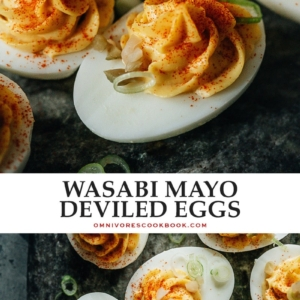 Give a holiday classic a surprising twist with these Chinese deviled eggs that are bursting with exciting flavors to shake things up! {Gluten-Free}
