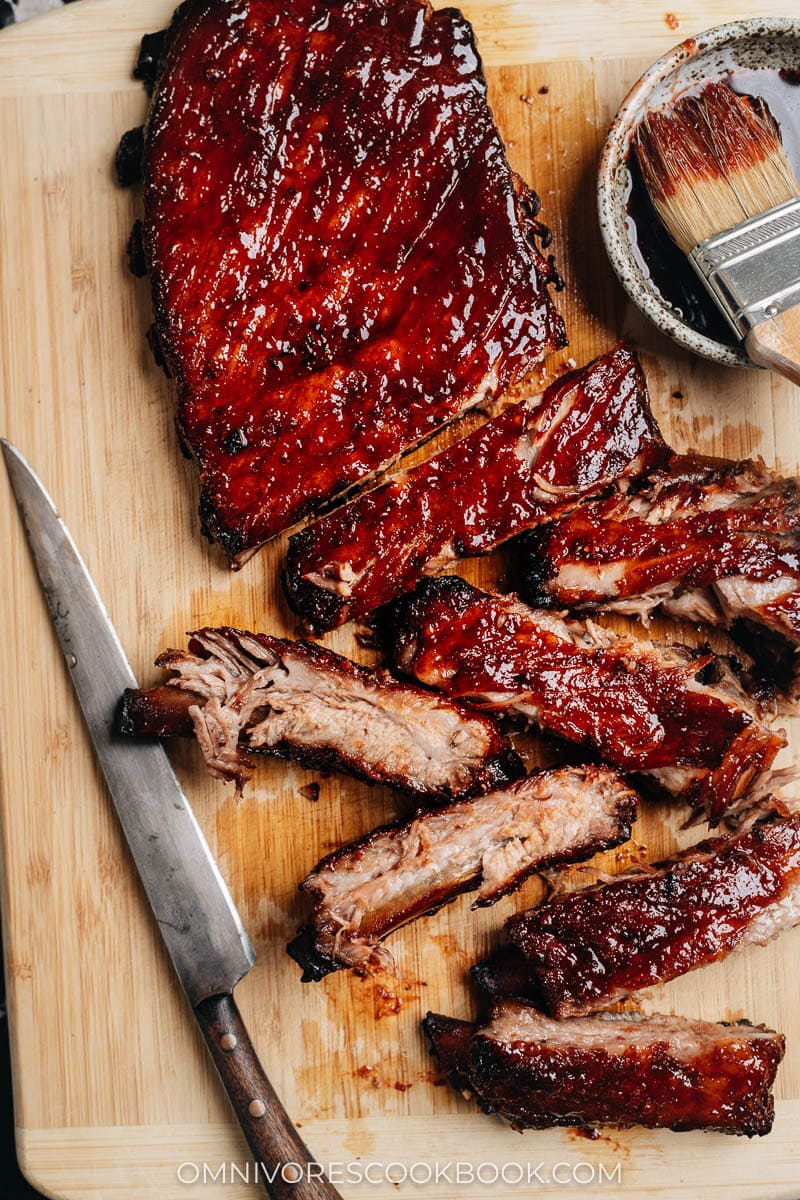 Glazy BBQ ribs