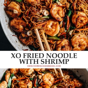 A quick and delicious fried noodle dish with big seafood flavors, you'll have it ready faster than takeout could possibly arrive!