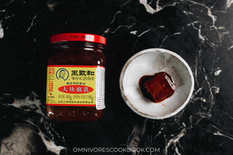 Red fermented tofu (red furu)