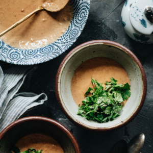 Sharing a nutty, savory, Beijing-style dipping sauce for hot pot that I've eaten my whole life. It uses a few fermented ingredients to create a super umami taste that pairs well with many types of hot pot soups. {Vegan, gluten-free adaptable}