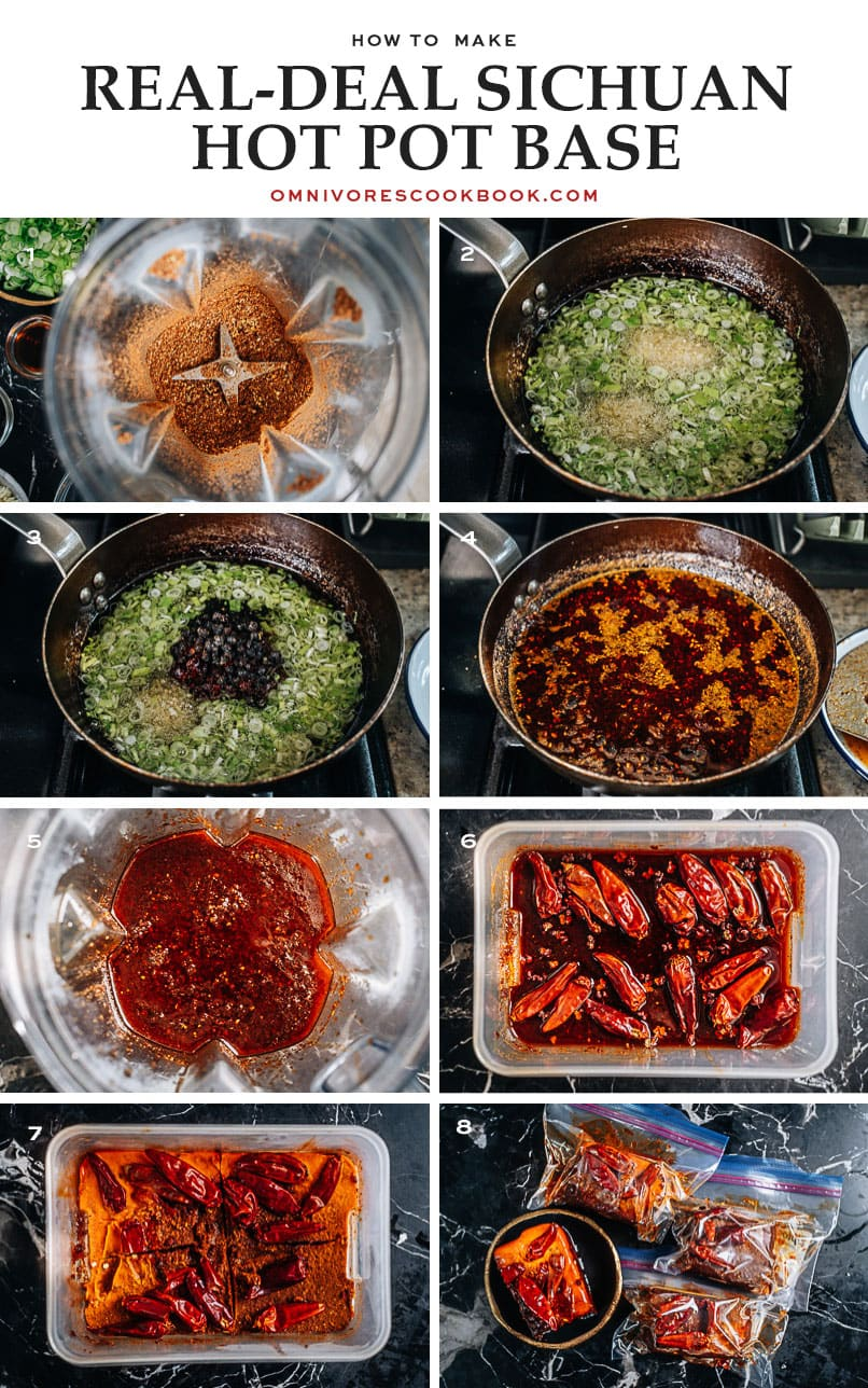 How to make Sichuan hot pot soup base step-by-step