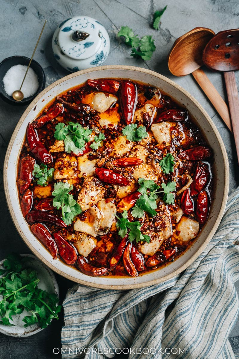 Homemade Sichuan boiled fish