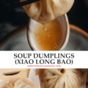 An easier Xiao Long Bao recipe that teaches you how to use commonly found ingredients to create restaurant-quality soup dumplings in your own kitchen.