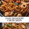If you're looking for an easy dinner, look no further than this one-pan seafood chow mein that's even more scrumptious than the restaurant version!