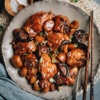 A classic Shanghai dish, braised chestnut chicken is a super comforting dish that is very easy to prepare and extremely satisfying to eat. It's a great centerpiece for your Sunday dinner, or you can make a huge batch for meal-prep.