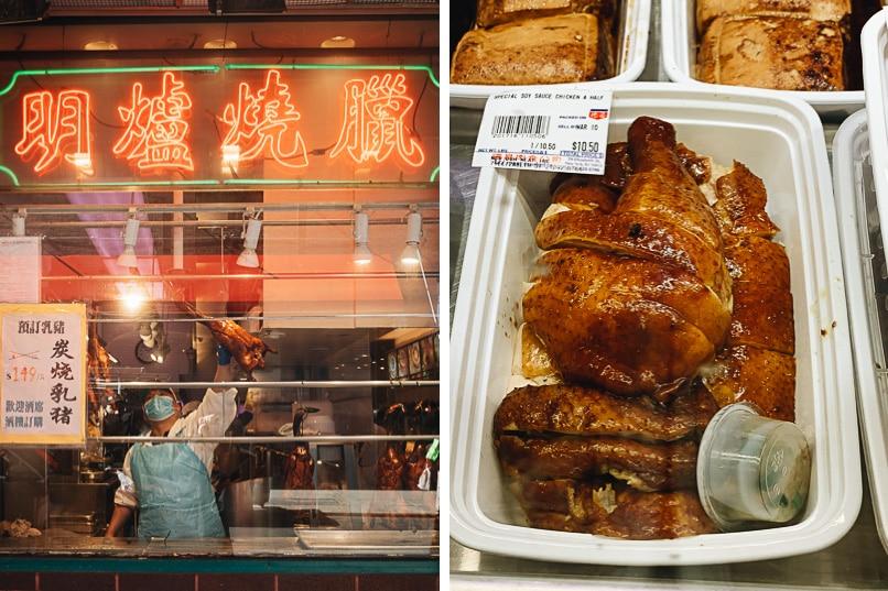 Manhattan Chinatown - Deluxe Food Market