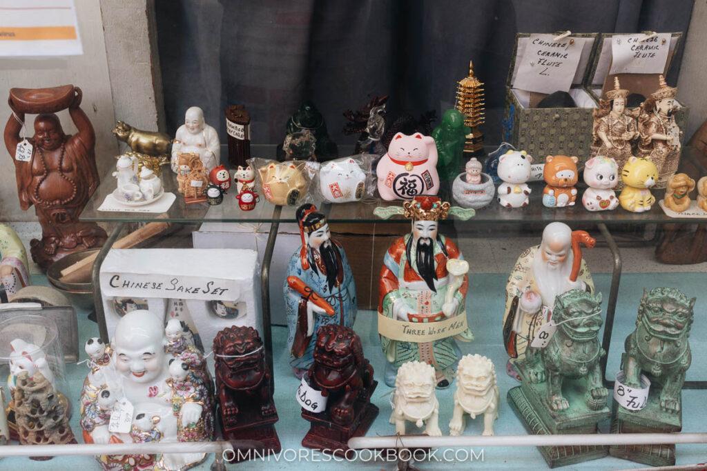 Manhattan Chinatown - TIng's Gift Shop