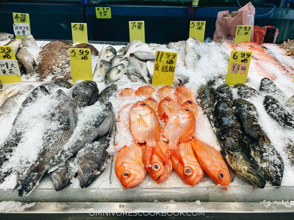 Manhattan Chinatown - CT Seafood Mart