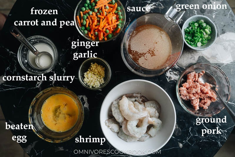 How to prep for shrimp with lobster sauce