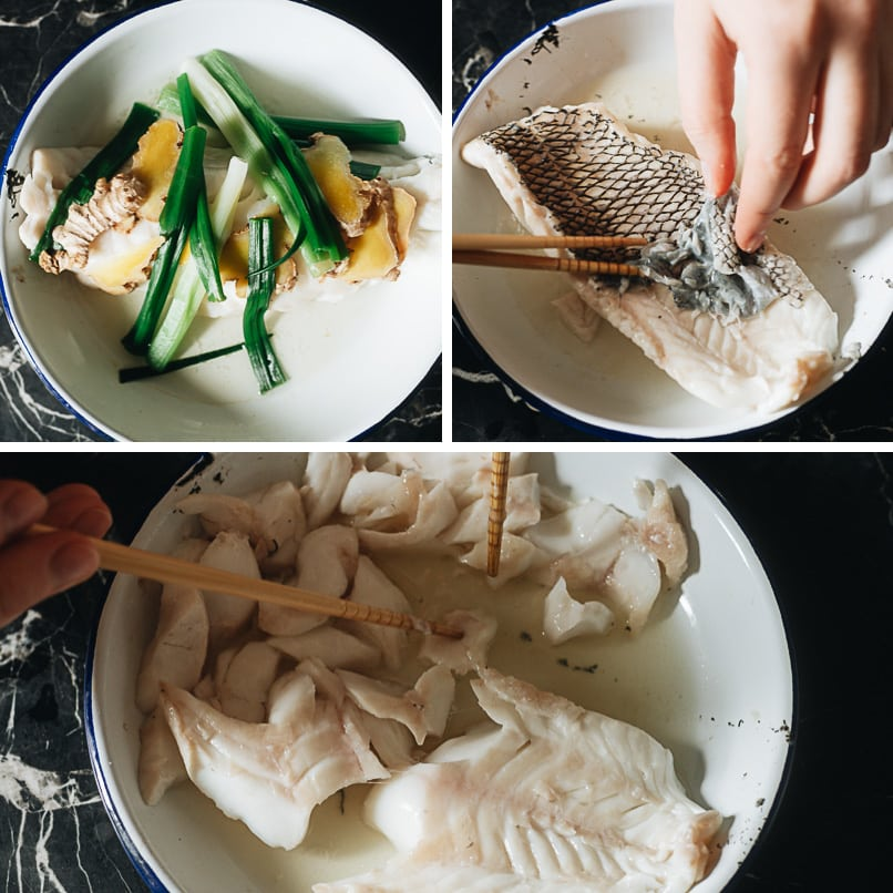 How to prepare a fillet of fish