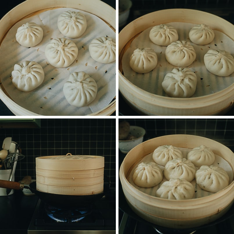 How to steam Chinese buns