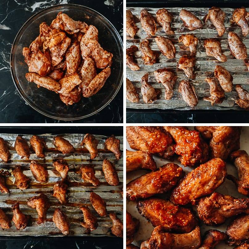 How to make Sichuan chicken wings in the oven