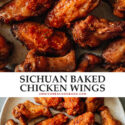 Take your chicken wings to the next level with a Chinese BBQ street food flair that makes these Sichuan chicken wings a dinner-time treat or a summer gathering staple!