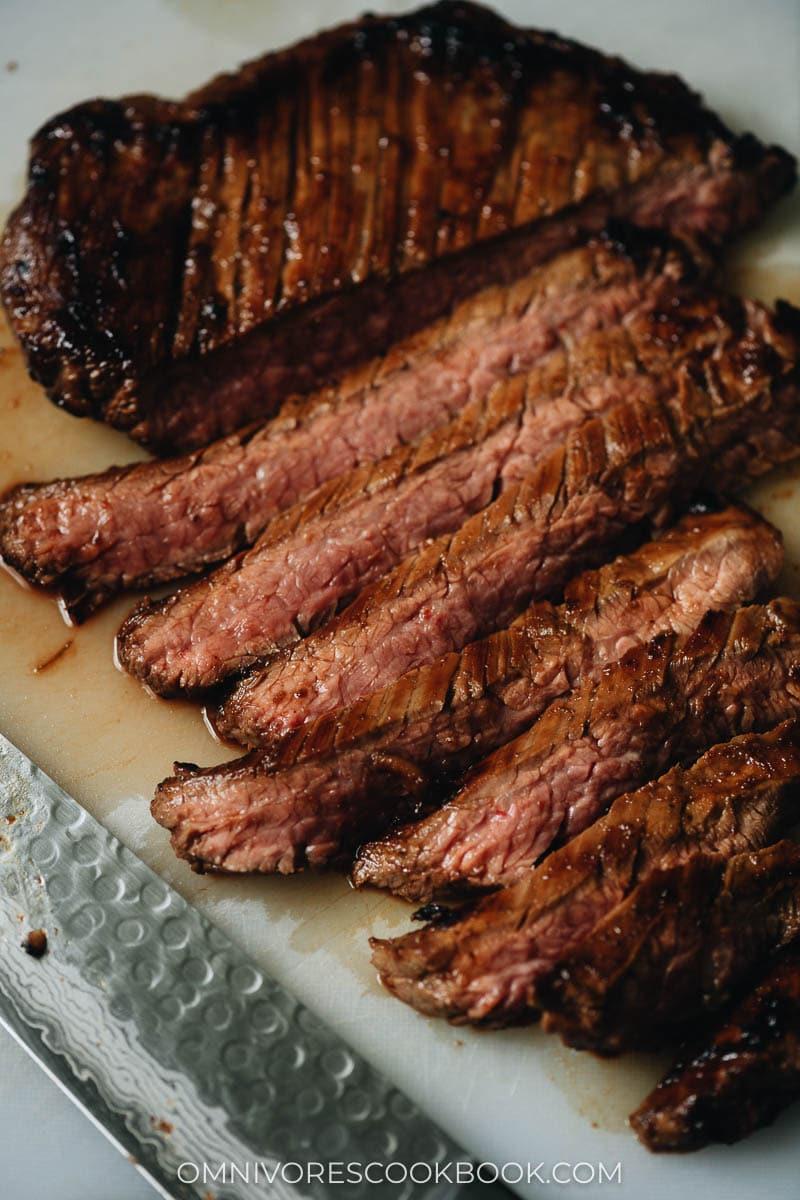 Juicy umami Korean barbecue steak