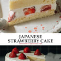 Learn the secrets to making the real-deal Japanese bakery-style strawberry cake - it's super light and fluffy, with a light cream frosting that's not too sweet. You'll feel like you're biting into a cloud as you enjoy the freshness of the ingredients.