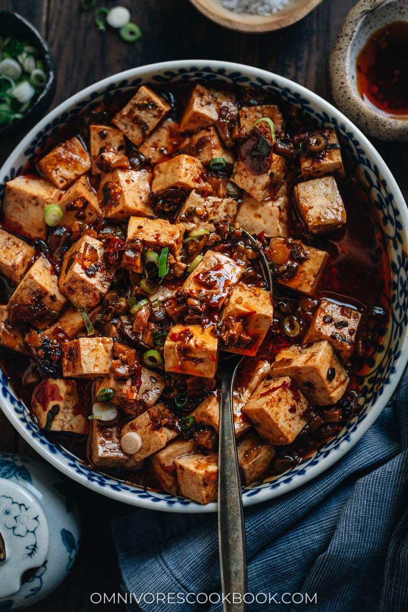 Easy spicy umami Sichuan-style tofu